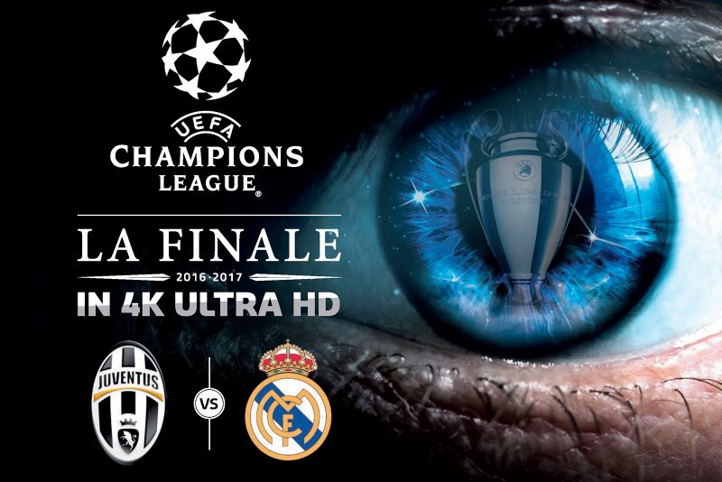 Finale Champions League 4k Juventus Real Madrid