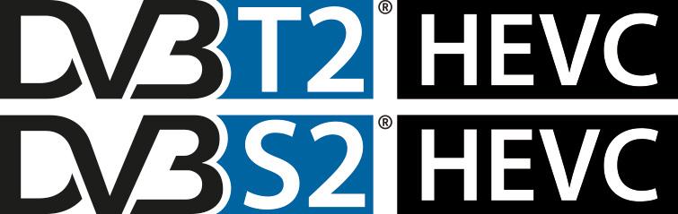 Digitale terrestre DVB-T2, satellitare DVB-S2 HEVC