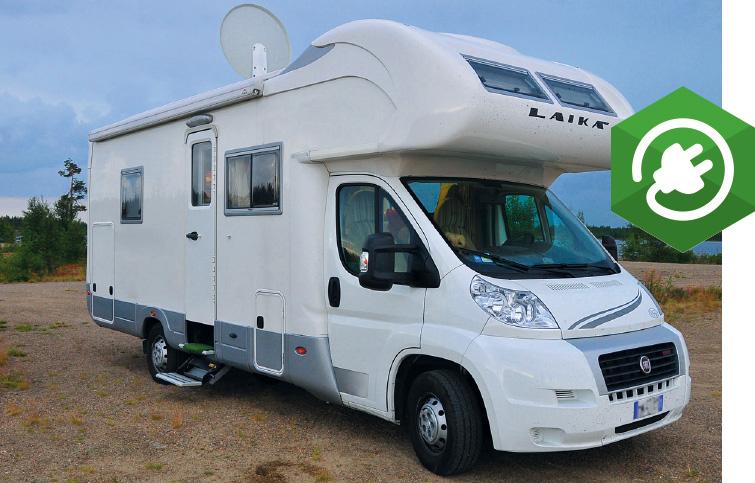 Alimentazione 12V per camper e caravan