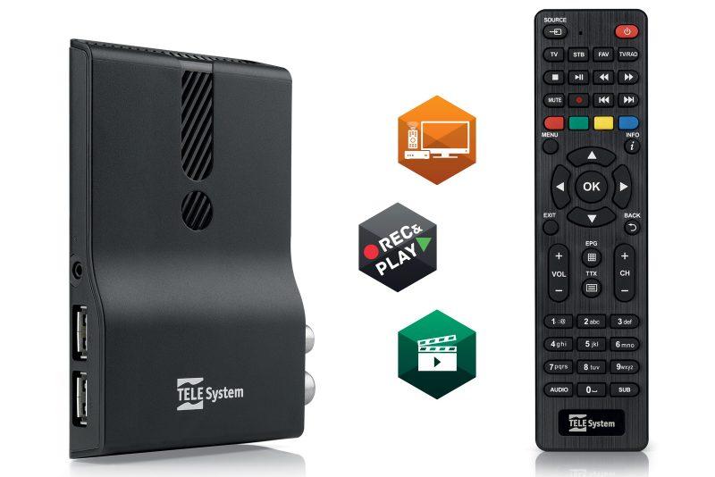 TS6810 DVB-T2 Stealth