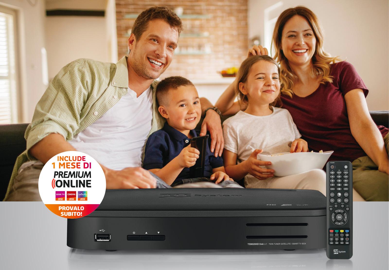 TS9020HD con Premium online