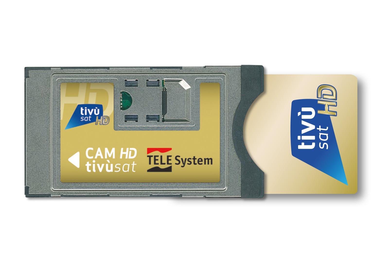 TELE System CAM tivùsat 4K