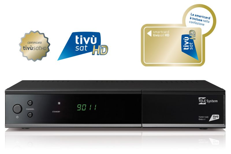 Decoder satellitare tivùsat HD TS9011HD