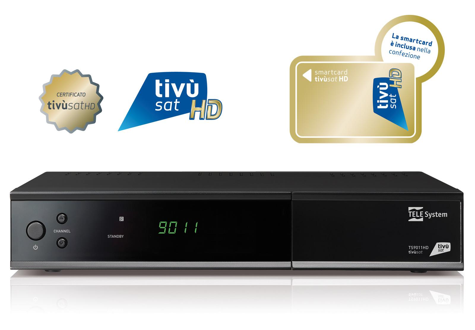 Decoder tivùsat HD TS9011HD