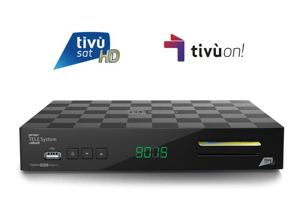 TS9015 HEVC tivùsat tivùon!