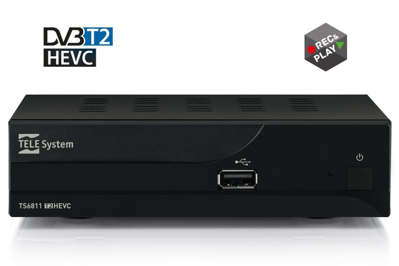 Ricevitore digitale TS6811 DVBT2 HEVC