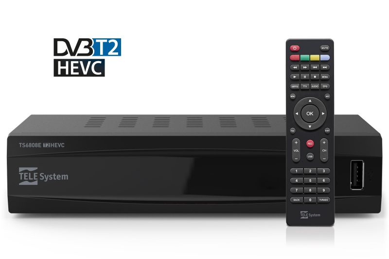 Set top box TS6808 DVB-T2 HEVC