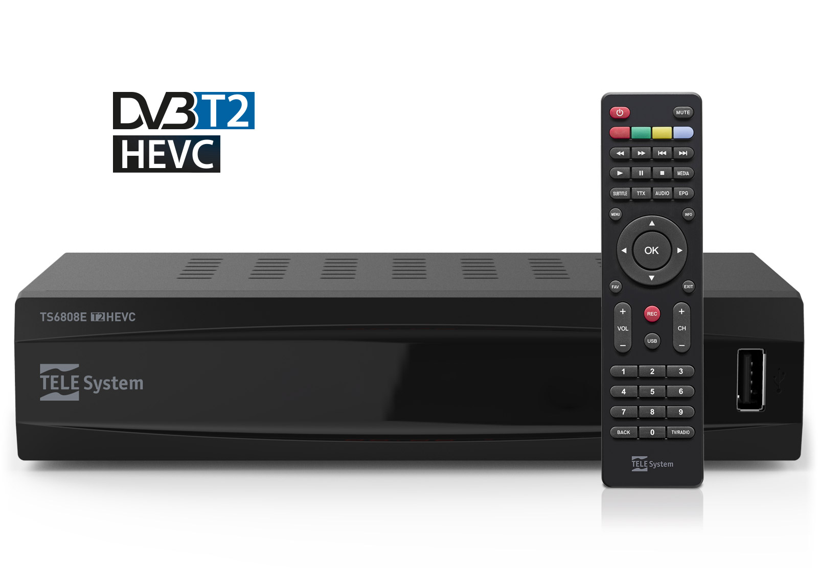 Set top box HEVC