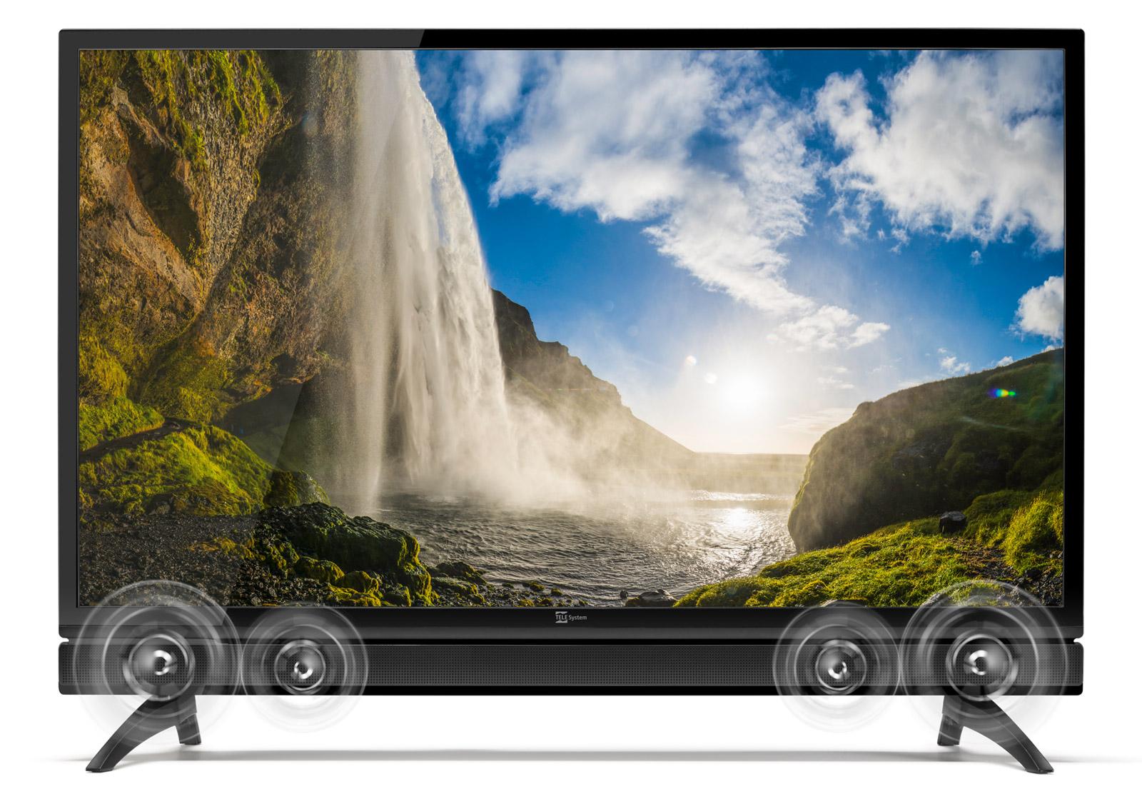 TV 32 pollici con soundbar integrata