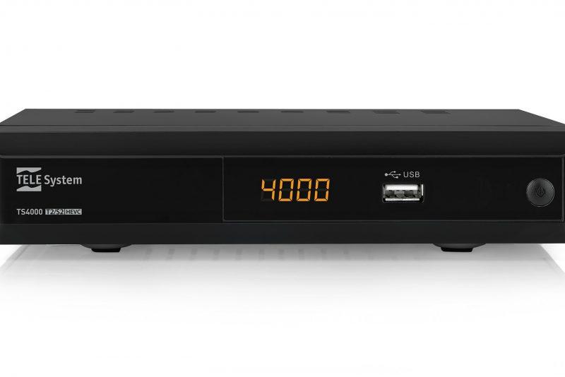 Decoder combo TS4000 DVBT2 DVBS2 HEVC