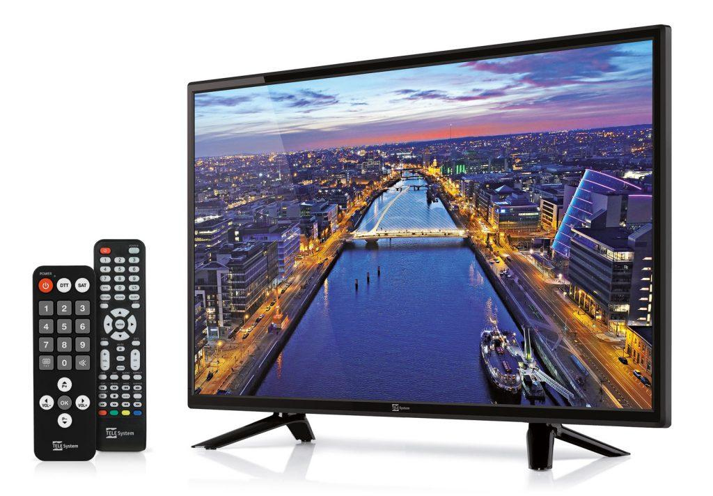 TV 24 pollici LS08 DVB-T2 DVB-S2 HEVC