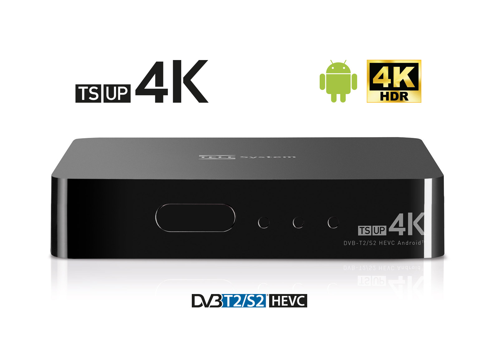 Decoder Android Ultra HD TS UP 4K