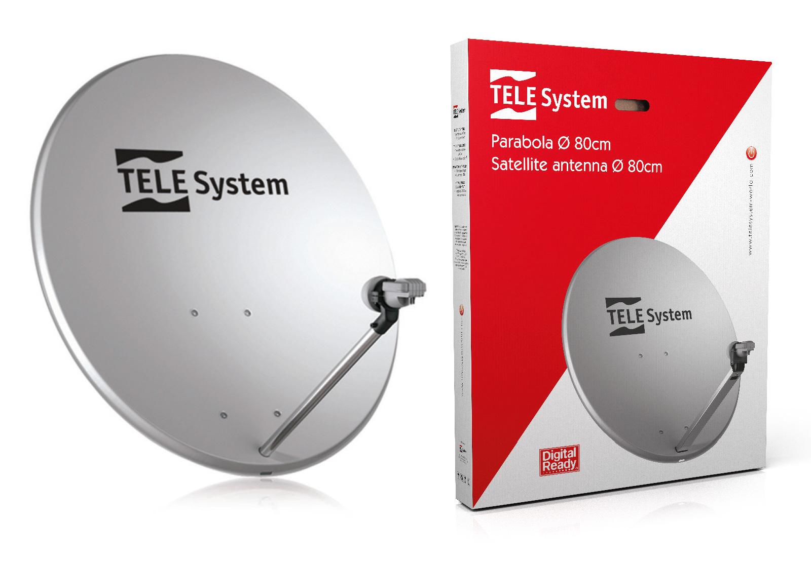 Kit parabola TE80