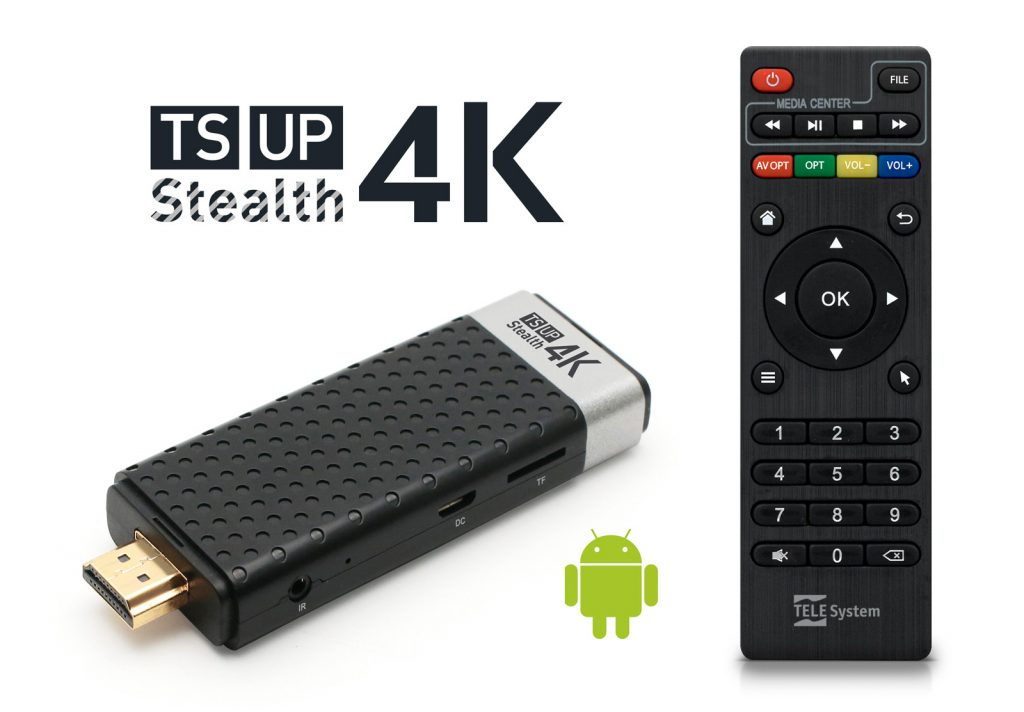 IP TV Box UHD - TS UP 4K Stealth