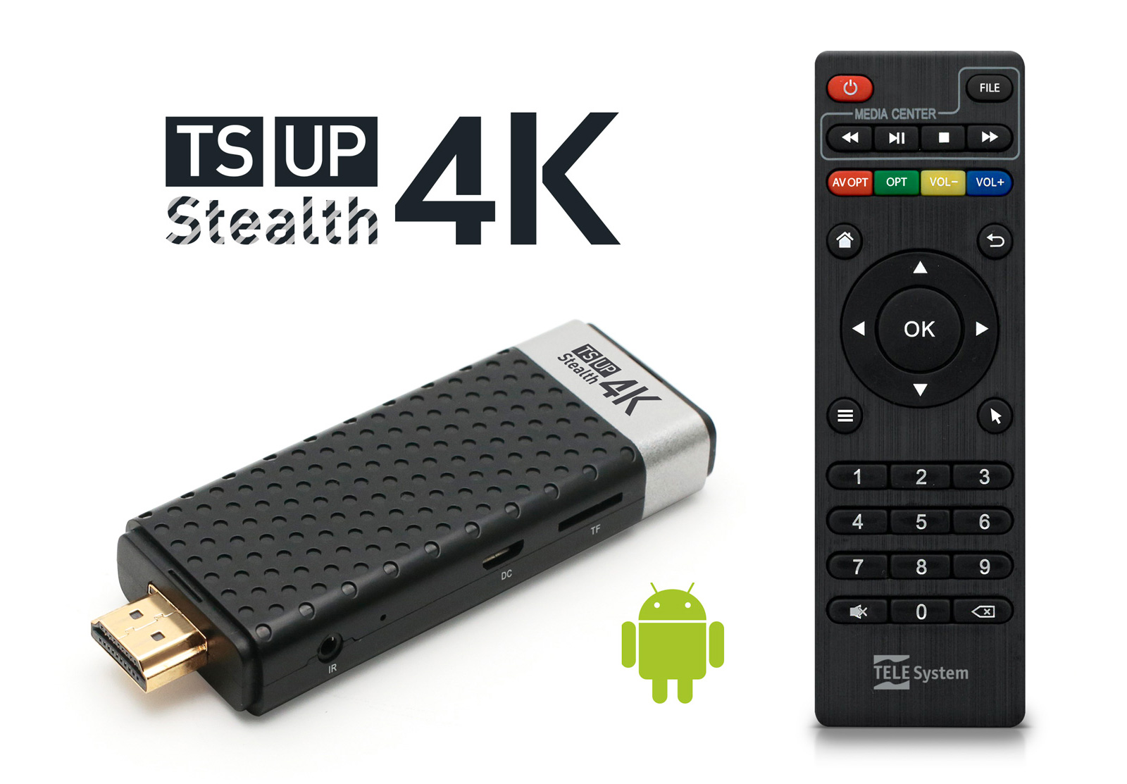IP Box Android™ 4K Ultra HD
