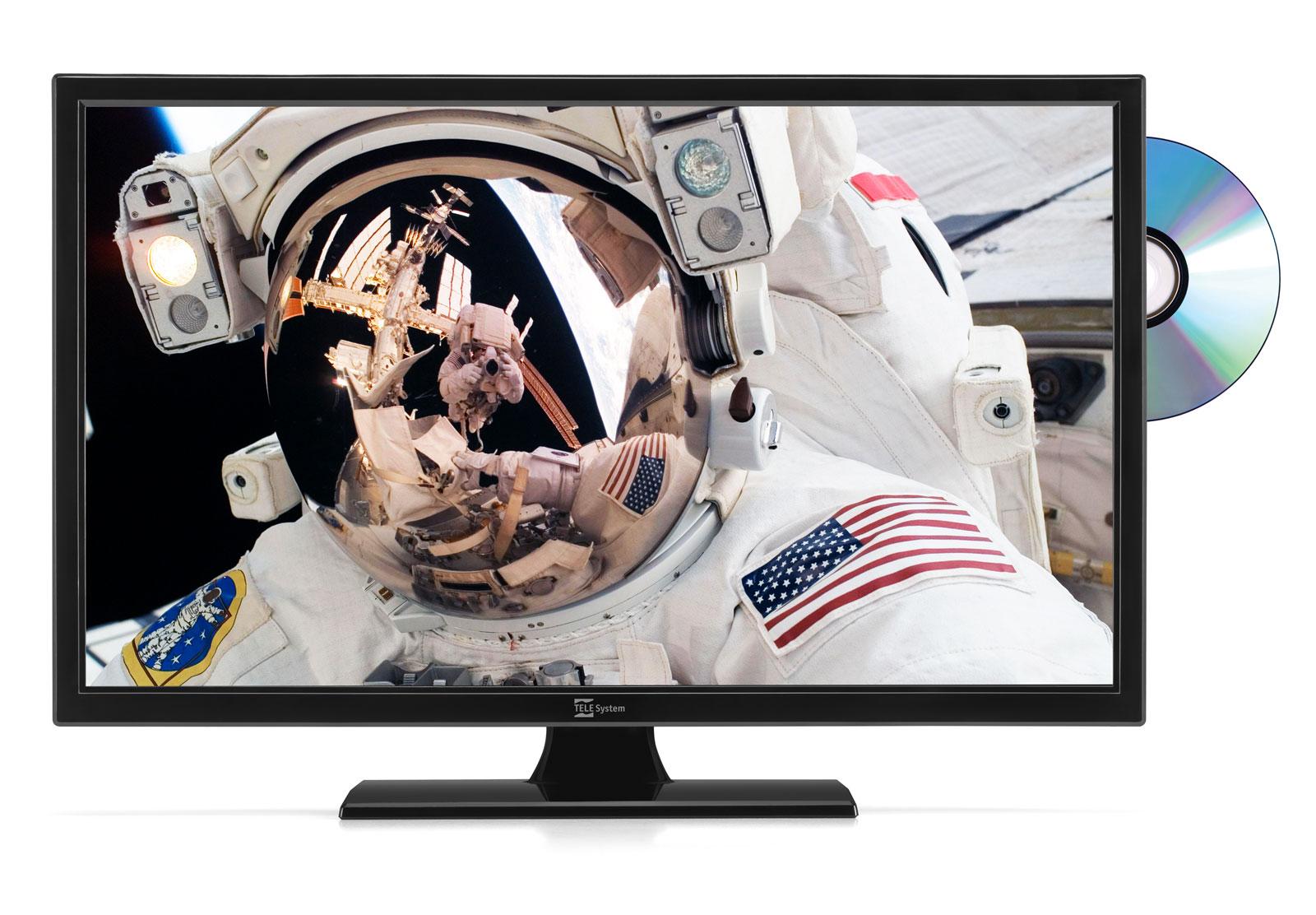 TV 19 pollici con lettore DVD integrato