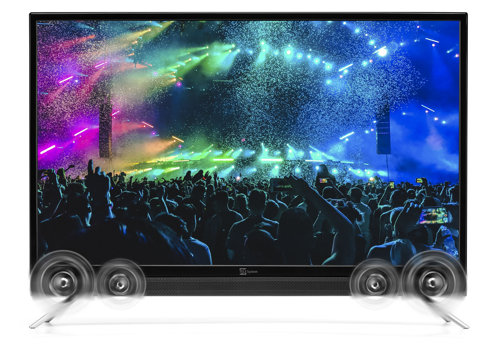 SMART TV Android 32 pollici con soundbar