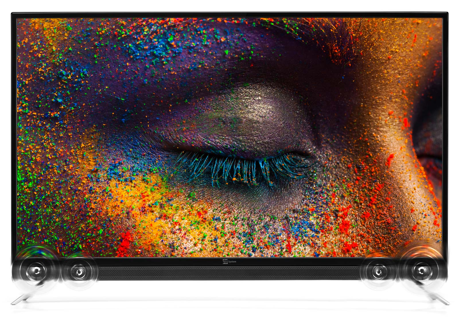SMART TV Android 4K 50 pollici con soundbar