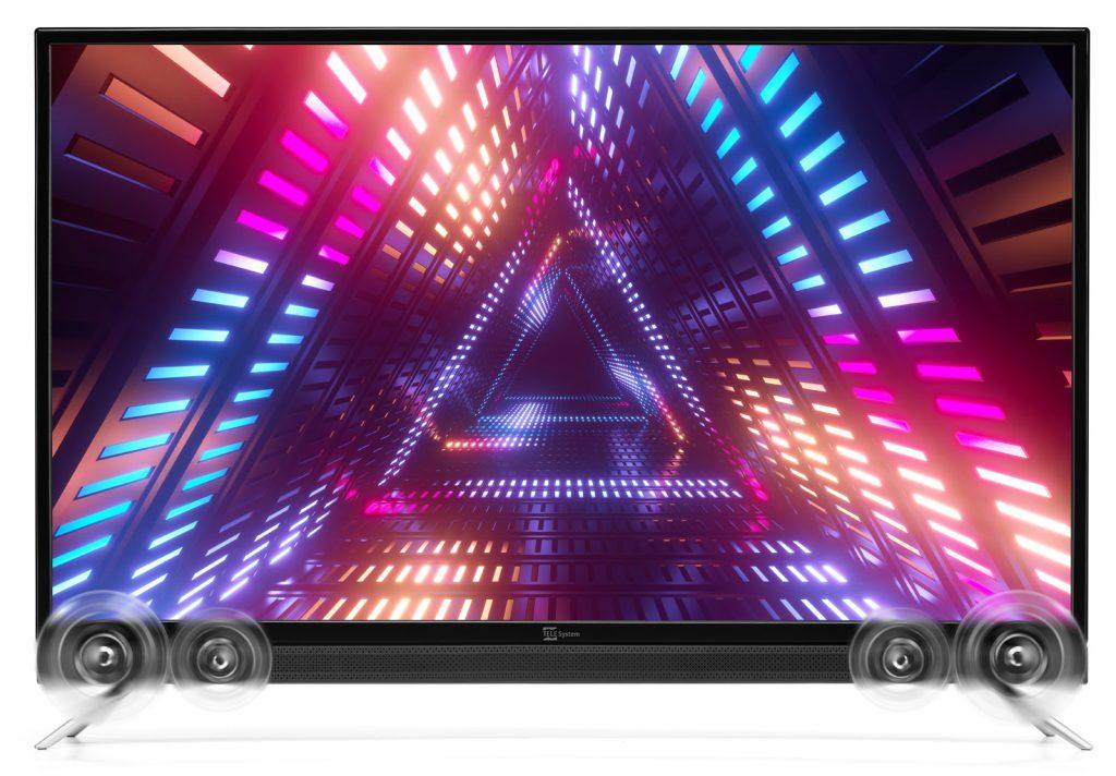 Smart TV 43 pollici con soundbar