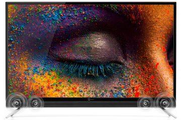 "Smart TV 4K 43"" con soundbar"