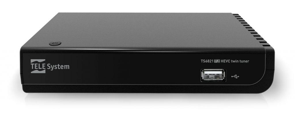 Decoder 10 bit twin tuner TS6821