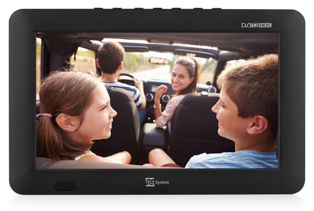 TV portatile TS09 DVB-T2 HEVC