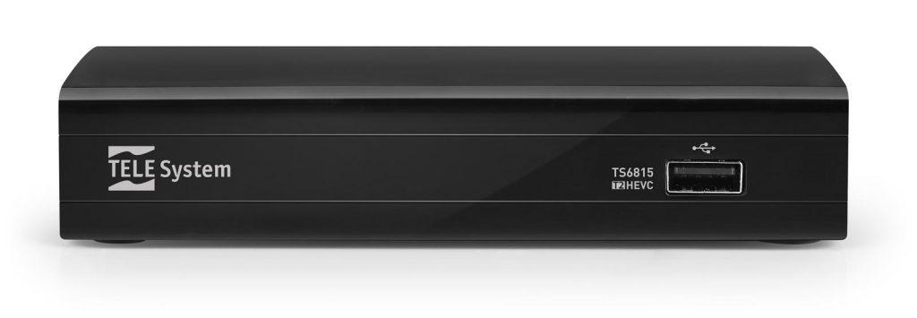 Decoder HDR TS6815 DVBT2 HEVC