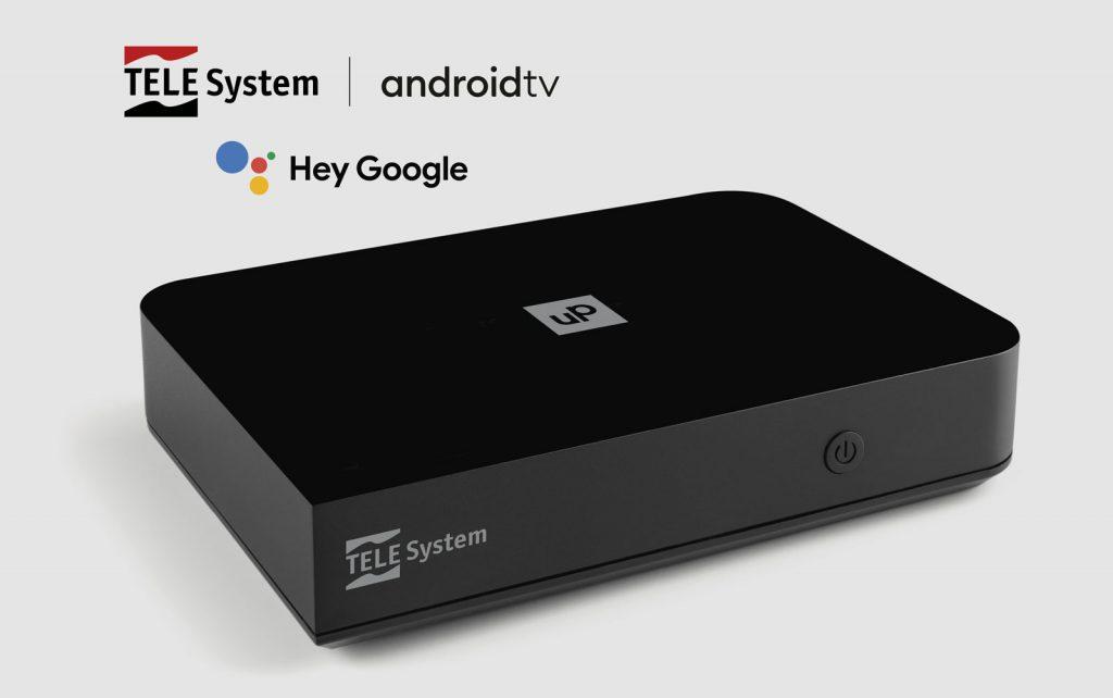 Ricevitore digitale terrestre AndroidTV HeyGoogle UPT24K