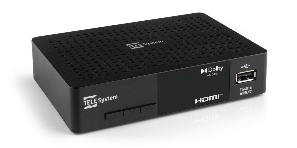 Decoder TS6816 DVB-T2 HEVC HDR HLG