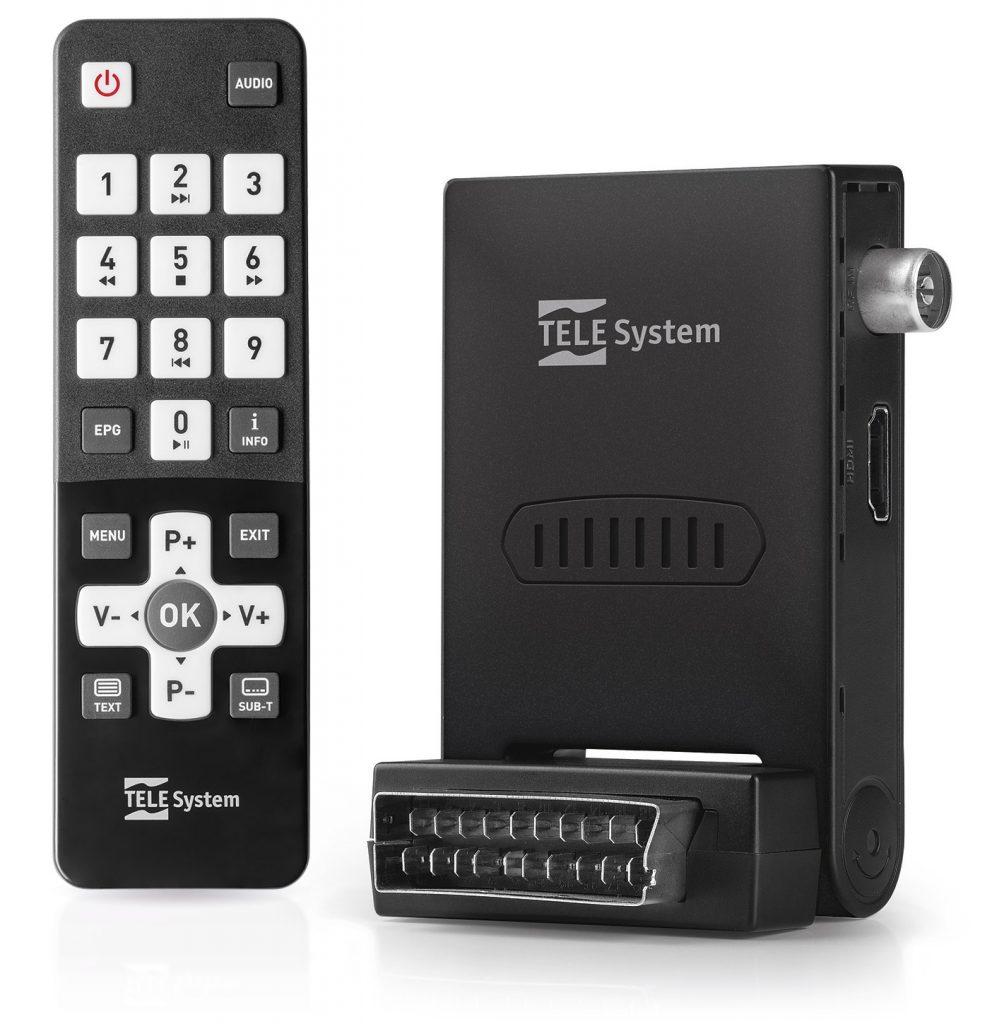 Mini decoder con telecomando semplice