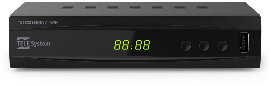 Decoder TS6822 twin tuner e videoregistratore digitale terrestre