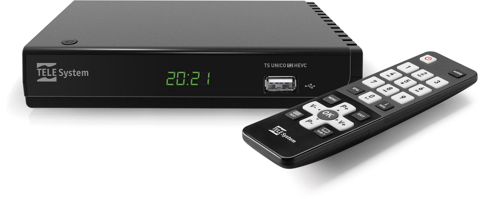 Decoder HD con telecomando semplice