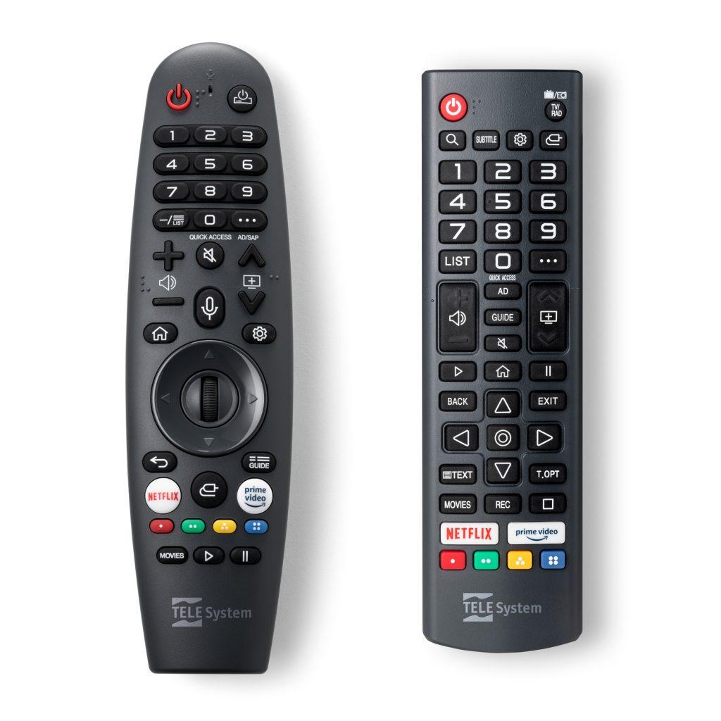 Magic Remote e telecomando standard