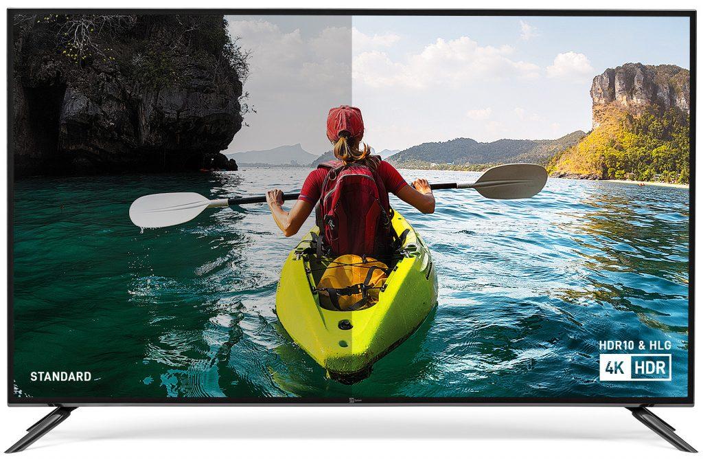 TV 4K HDR (HDR10 e HLG)