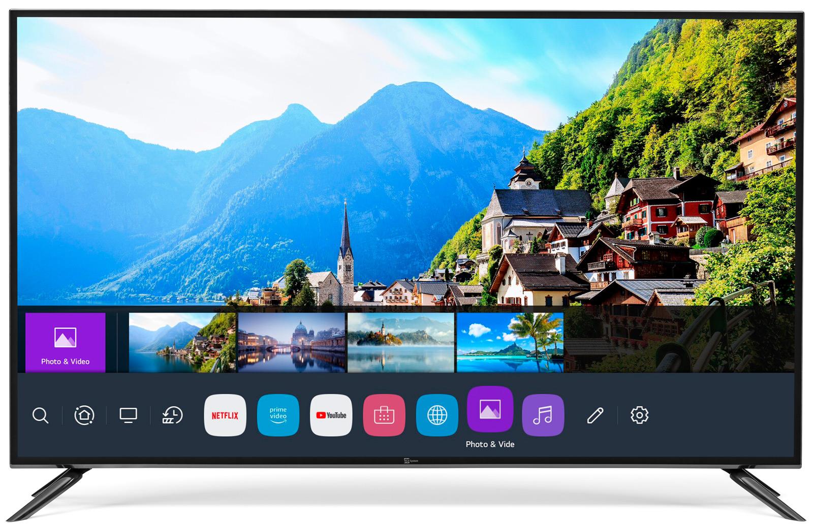 """Smart TV 43"""" 4K HDR webOS"""