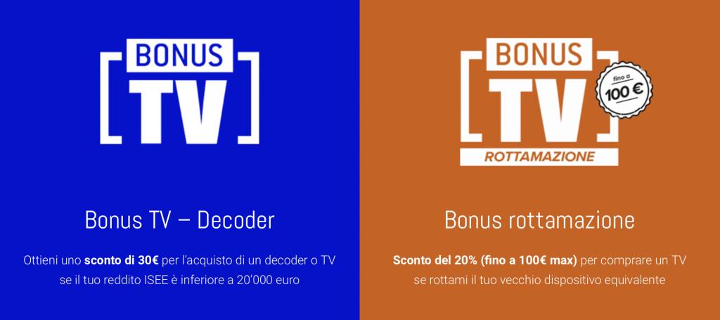 bonus TV decoder rottamazione
