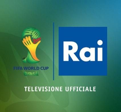 Rai televisione ufficiale Mondiali Brasile 2014