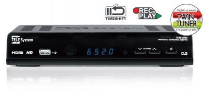 TS6520HD Box Digitale Terrestre - Zapper Alta Definizione