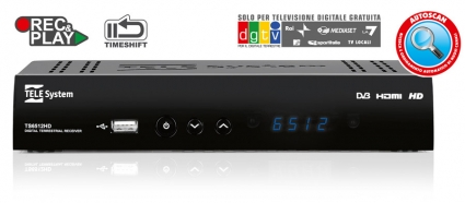 TS6512HD - Decoder HD PVR