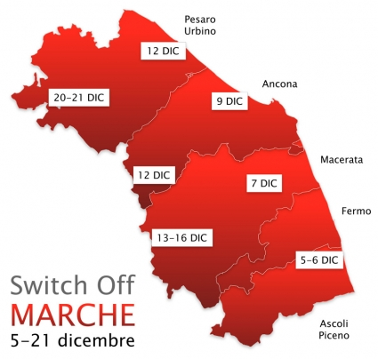 Digitale terrestre Marche - Switch Off