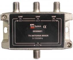 Comb/Mezc 2UHF/VHF