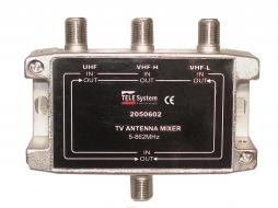 Comb/Mezc 2VHF/UHF