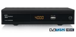TS4000 combo DVB-T2/S2 HEVC