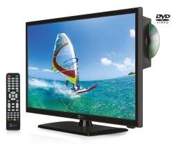 TV LED con DVD integrato