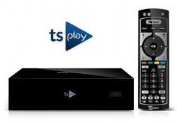 tsPLAY con telecomando universale 2 in 1