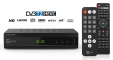 DVB-T2 H.265 Set-top box - Videorecorder and Media player with double remote control