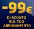 Vuoi 99€ di sconto sull'abbonamento a Mediaset Premium?