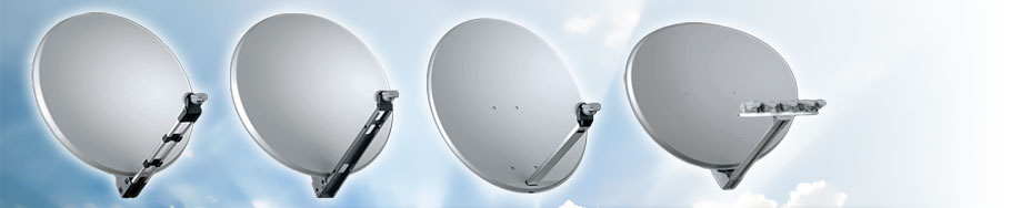 Satellite antennas (small)