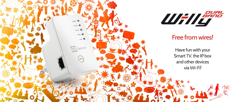 Free from wires with Wi-lly Dualband