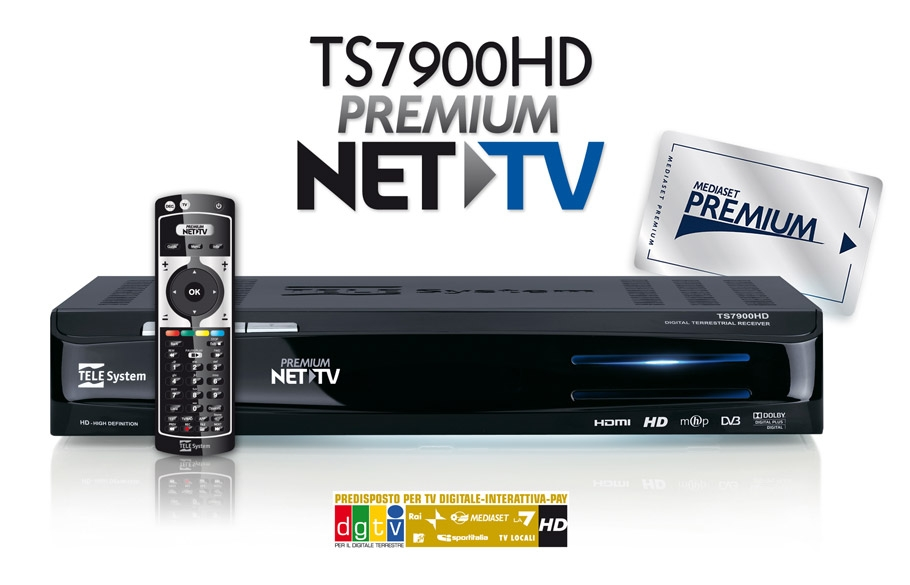 TS7900HD Net TV